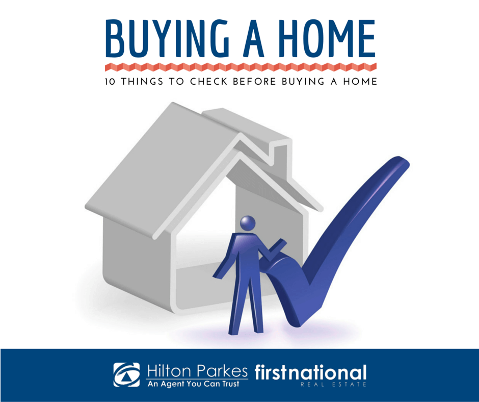 10 things to check before buying a home for Things to do when buying a house