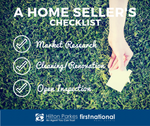 A Home Seller's Checklist