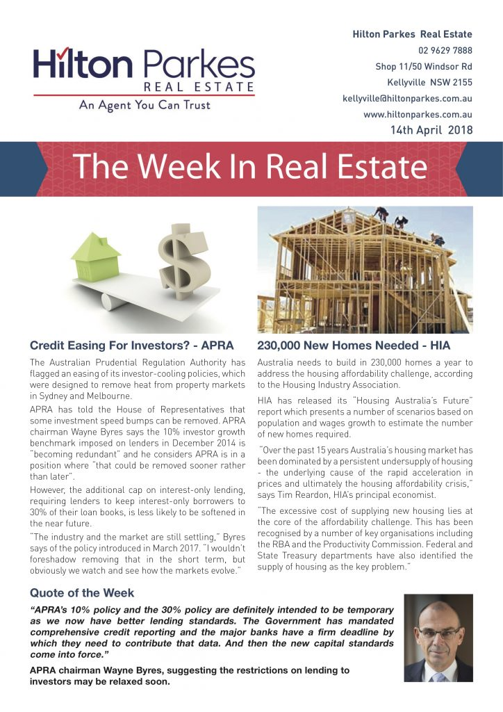 this week in real estate